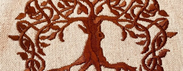 Tree Of Life Embroidery Pattern Celtic Tree Of Life Embroidery Design Satin
