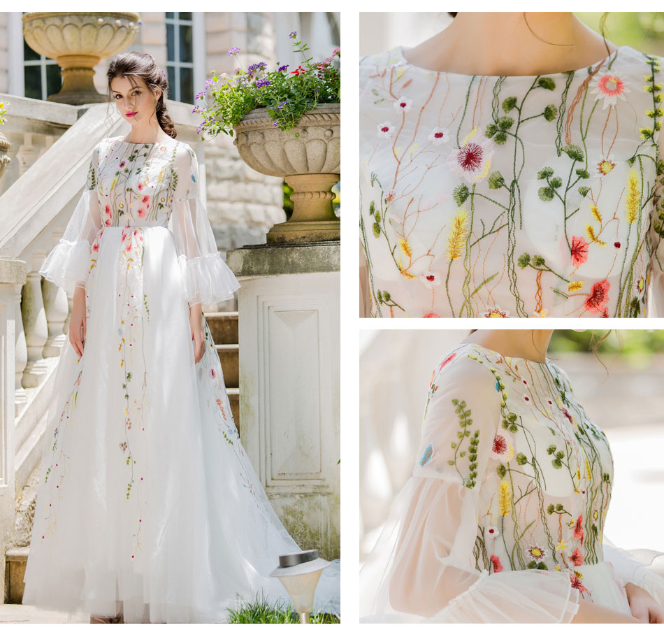 Wedding Dress Embroidery Patterns Collection Gallery Of Gallery