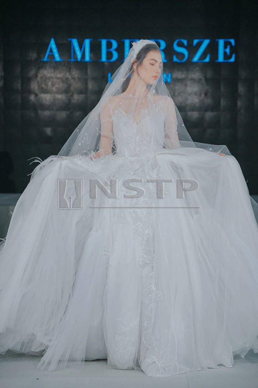 Wedding Dress Embroidery Patterns Ode To The Bride New Straits Times Malaysia General Business