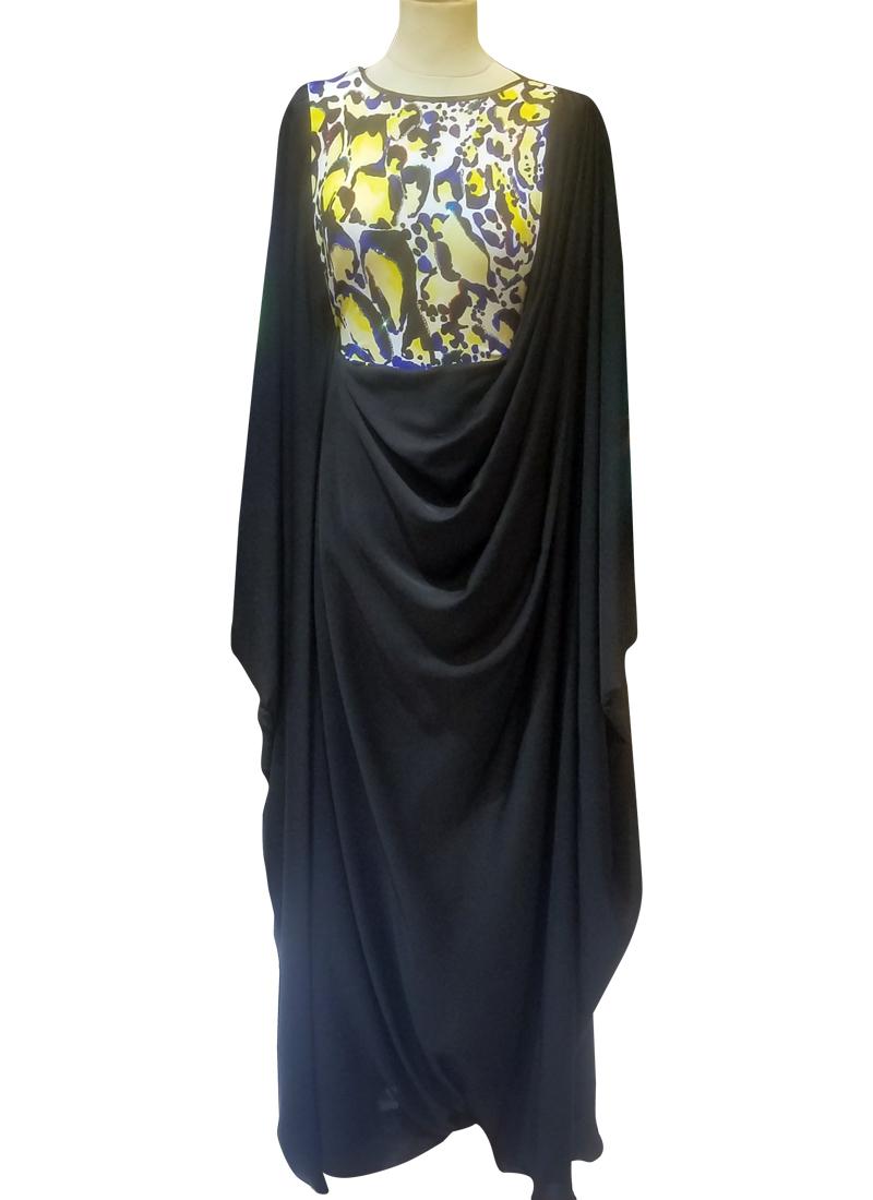 Abaya Embroidery Patterns Modesty Lupin Abaya