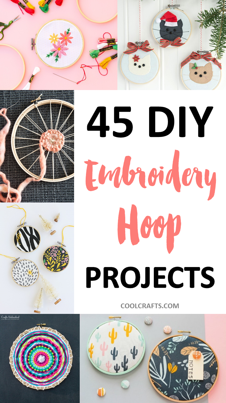 Bohemian Embroidery Patterns 45 Stunning Embroidery Hoop Diy Projects Cool Crafts
