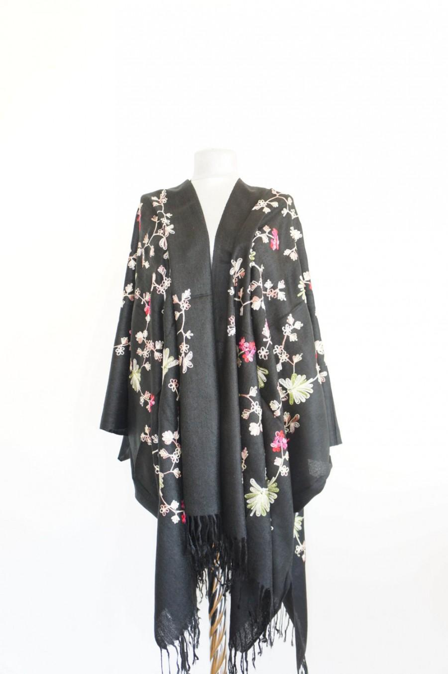 Bohemian Embroidery Patterns Embroidered Kimono Floral Kimono Bohemian Kimono Embroidery Patterns