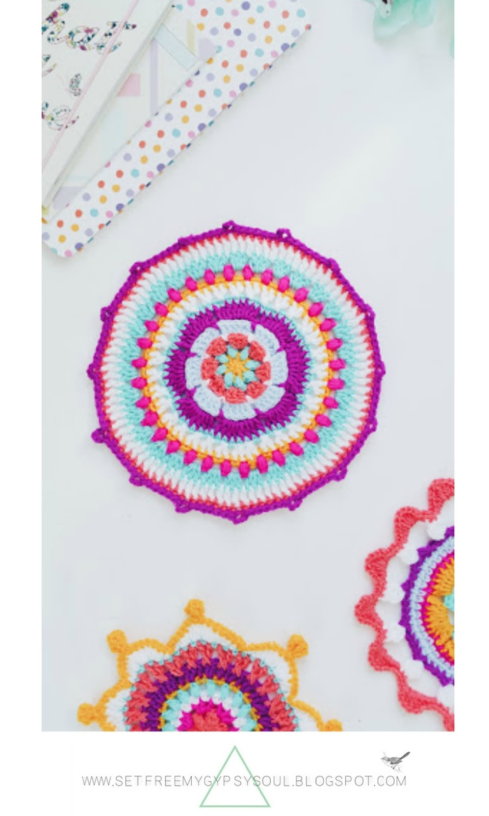 Bohemian Embroidery Patterns Set Free My Gypsy Soul A Crochet Craft Blog 3 Bright Bohemian