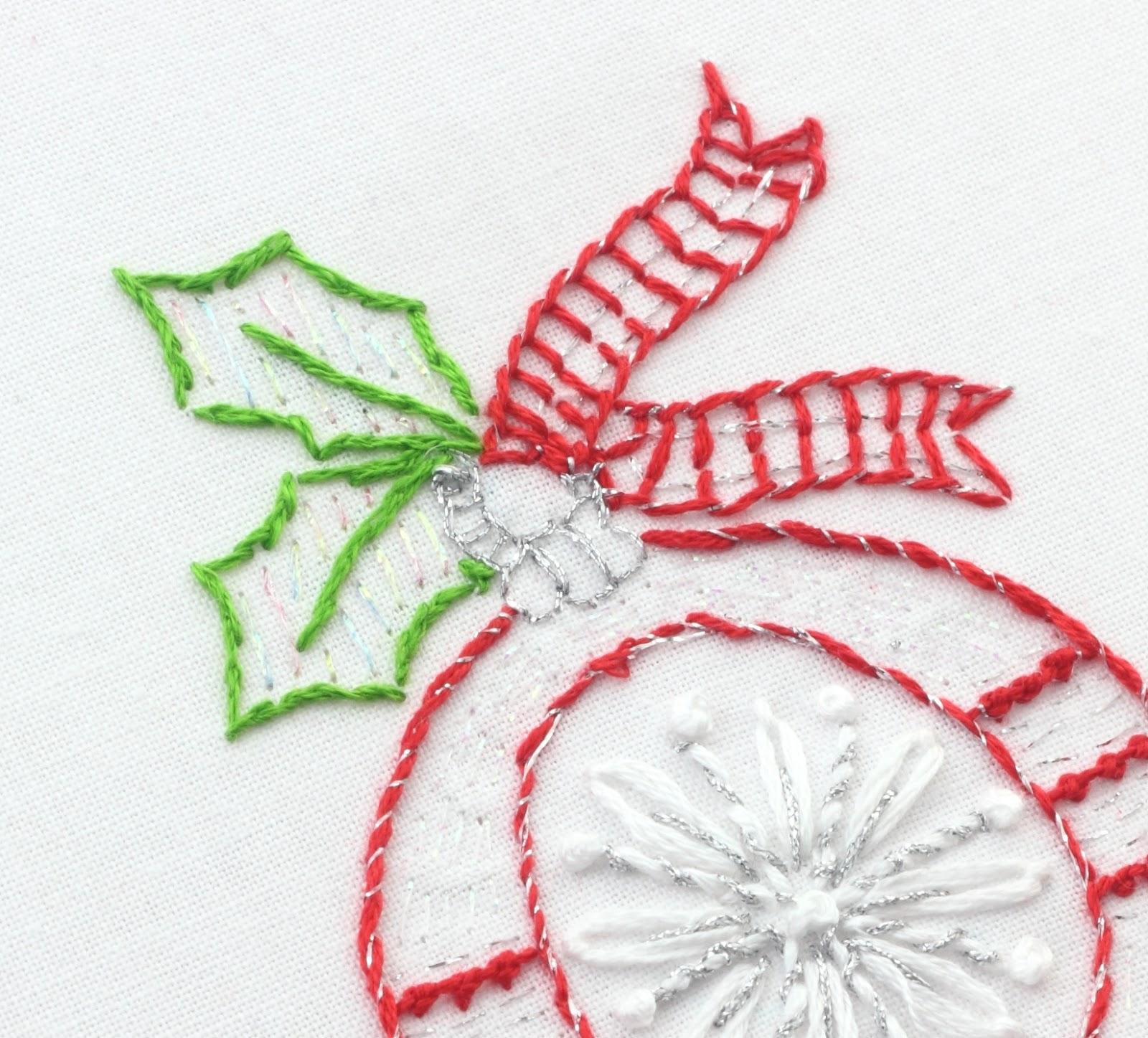 Christmas Embroidery Patterns Big B Scandinavian Christmas Stitching Part One