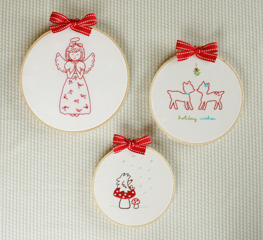 Christmas Embroidery Patterns Christmas Embroidery Patterns For A Quickie Embroidery Pat Flickr