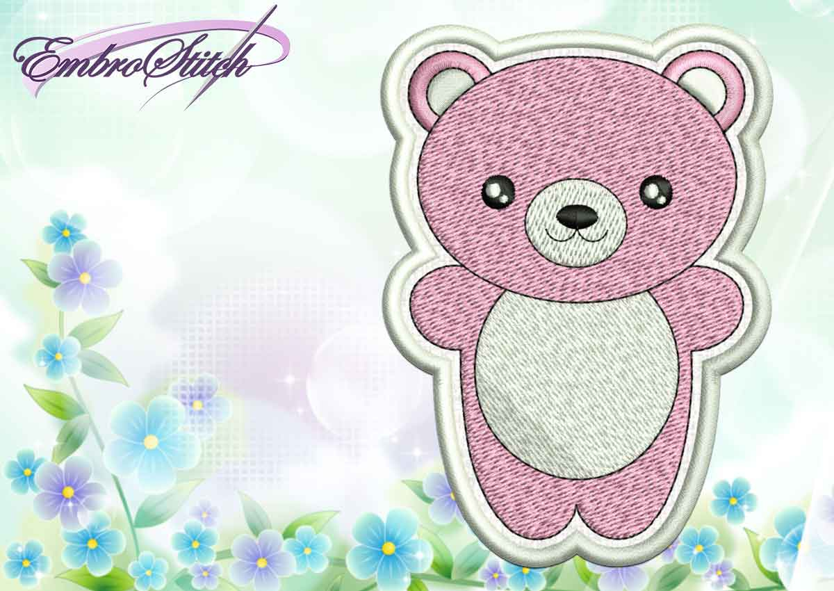 Cute Embroidery Patterns Kawaii Animals Collection Embroidery Designs