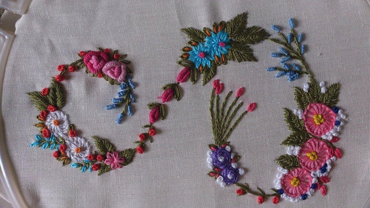 Embroidery Alphabet Patterns Hand Embroidery Designs Monogram Alphabet S