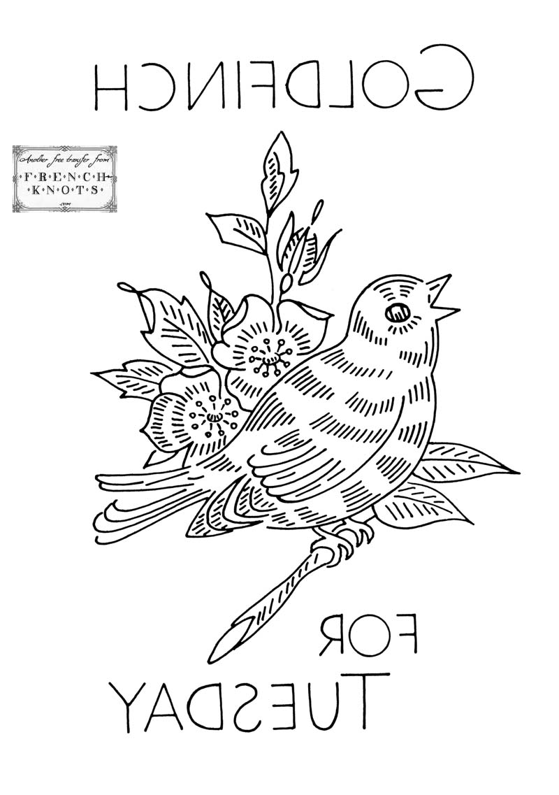 Embroidery Bird Patterns Bird Embroidery Patterns French Knots