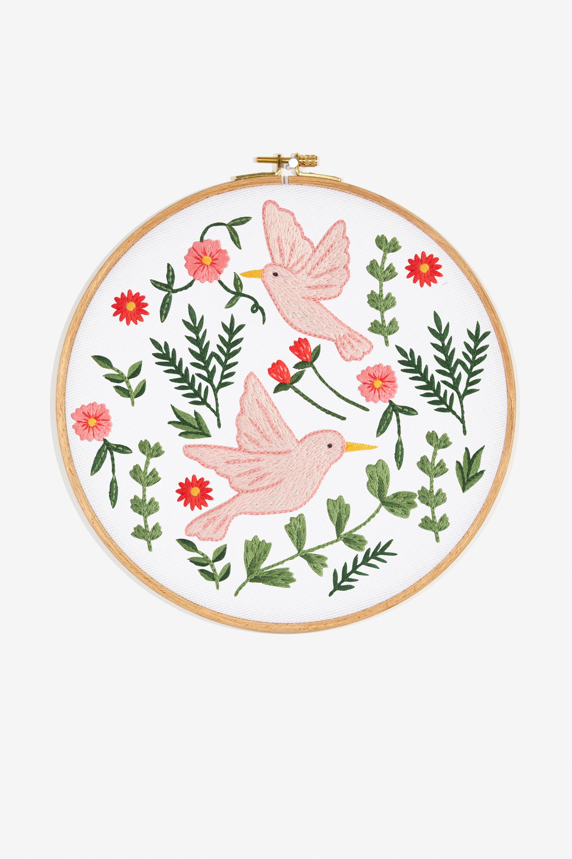 Embroidery Bird Patterns Birds Pattern Free Embroidery Patterns Dmc