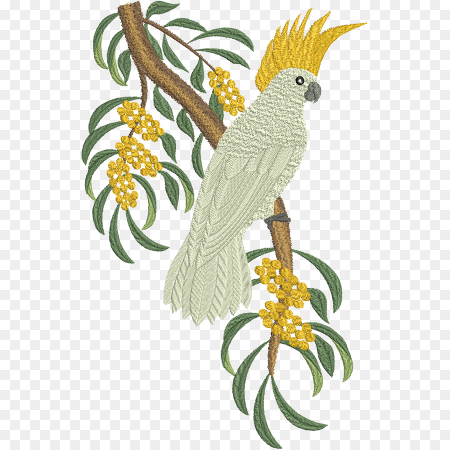 Embroidery Bird Patterns Floral Pattern Backgroundtransparent Png Image Clipart Free Download