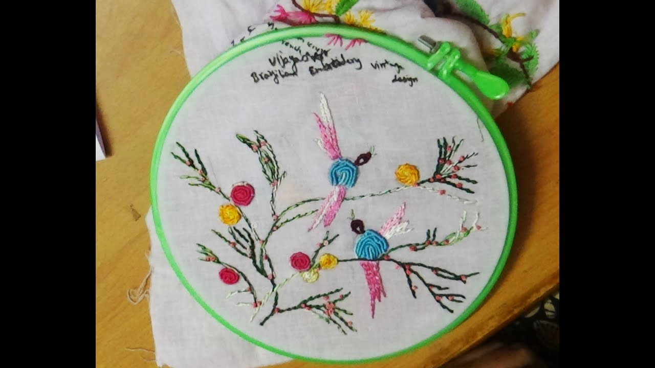Embroidery Bird Patterns Hand Embroidery Designs 126 Brazilian Birds Embroidery Designs