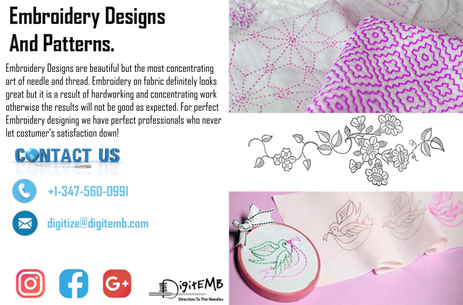 Embroidery Designs Patterns Embroidery Design Pattern Stephaniesmith Issuu