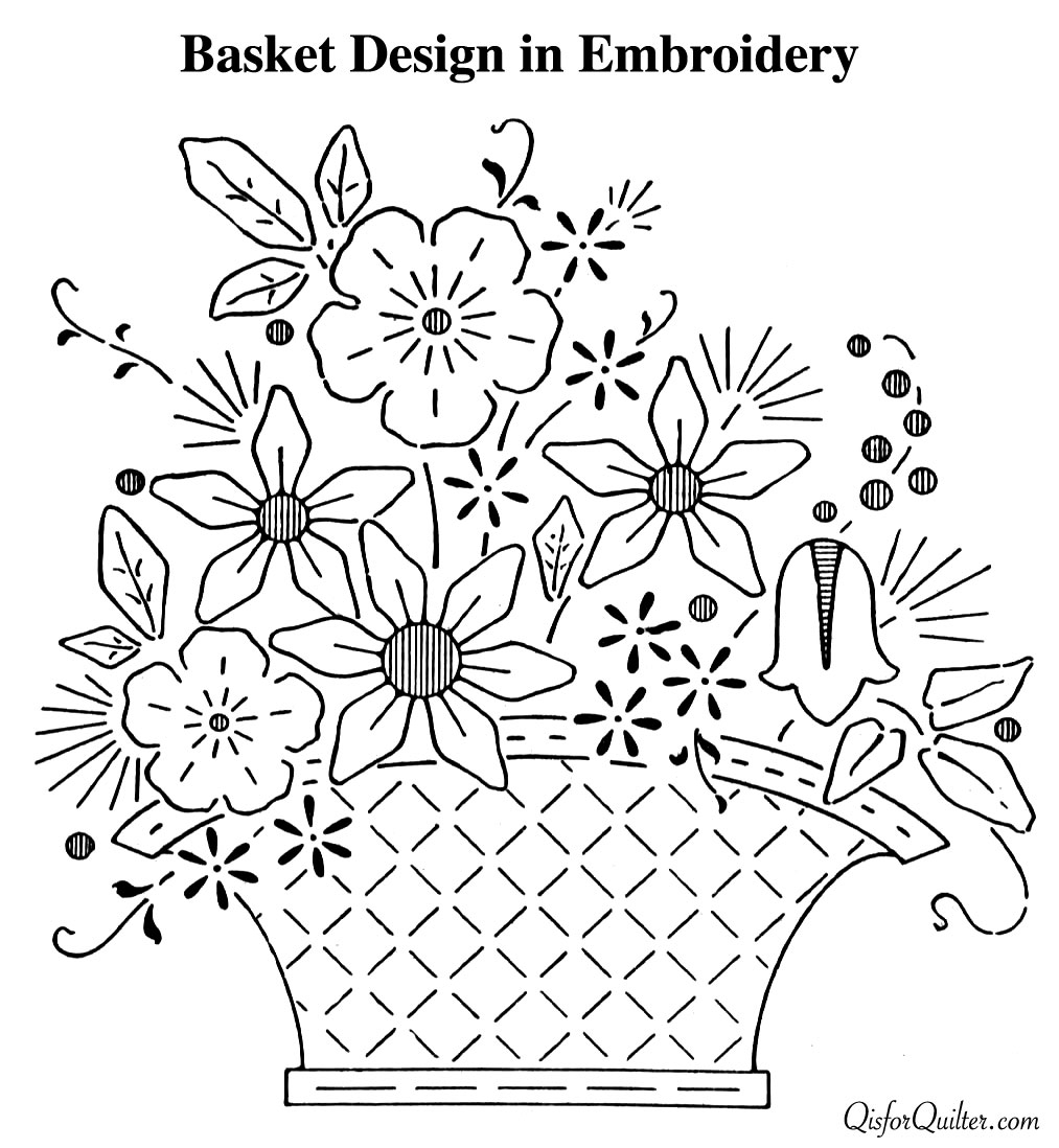 Embroidery Designs Patterns Housewifely Wisdom Embroidery Patterns From 1920s Newspapers Q
