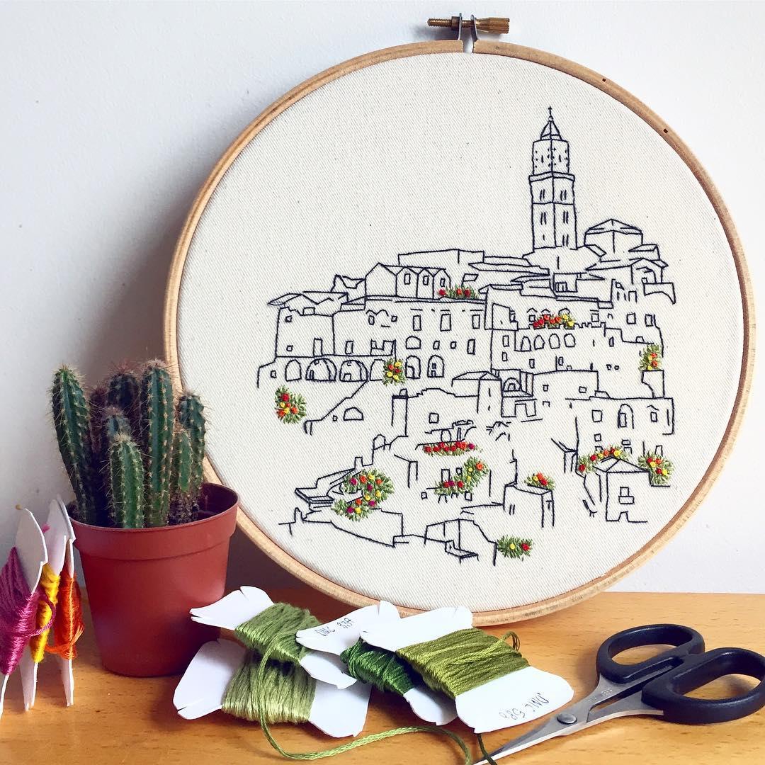 Embroidery Designs Patterns Italian Embroidery Of Sassi Di Matera Pdf Pattern
