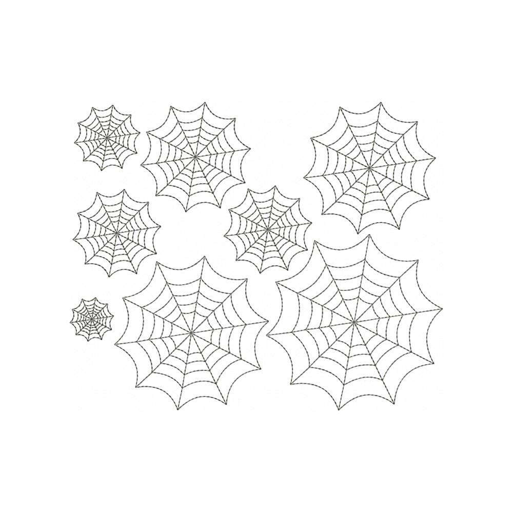 Embroidery Designs Patterns Spiderweb Redwork