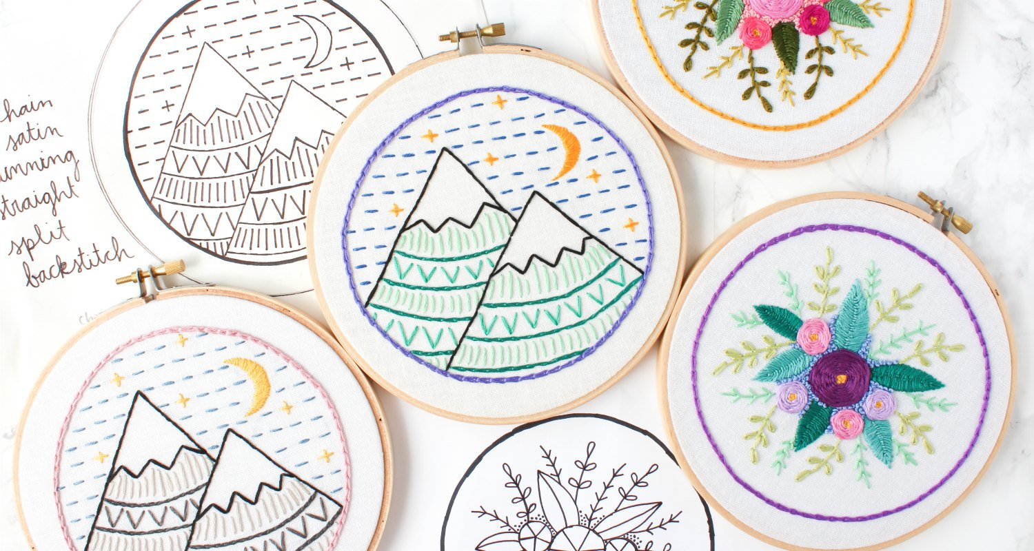 Embroidery For Beginners Free Patterns Free Online Embroidery Class