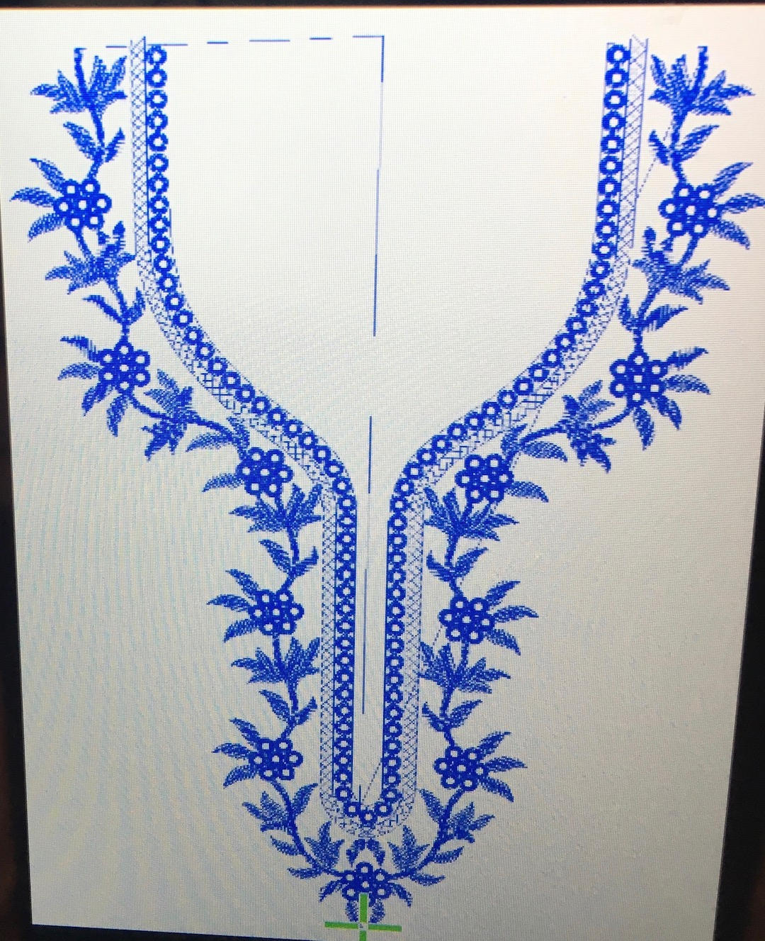 Embroidery Machine Patterns Download The Tango Tunic With Embroidered Neckline Make It Coats