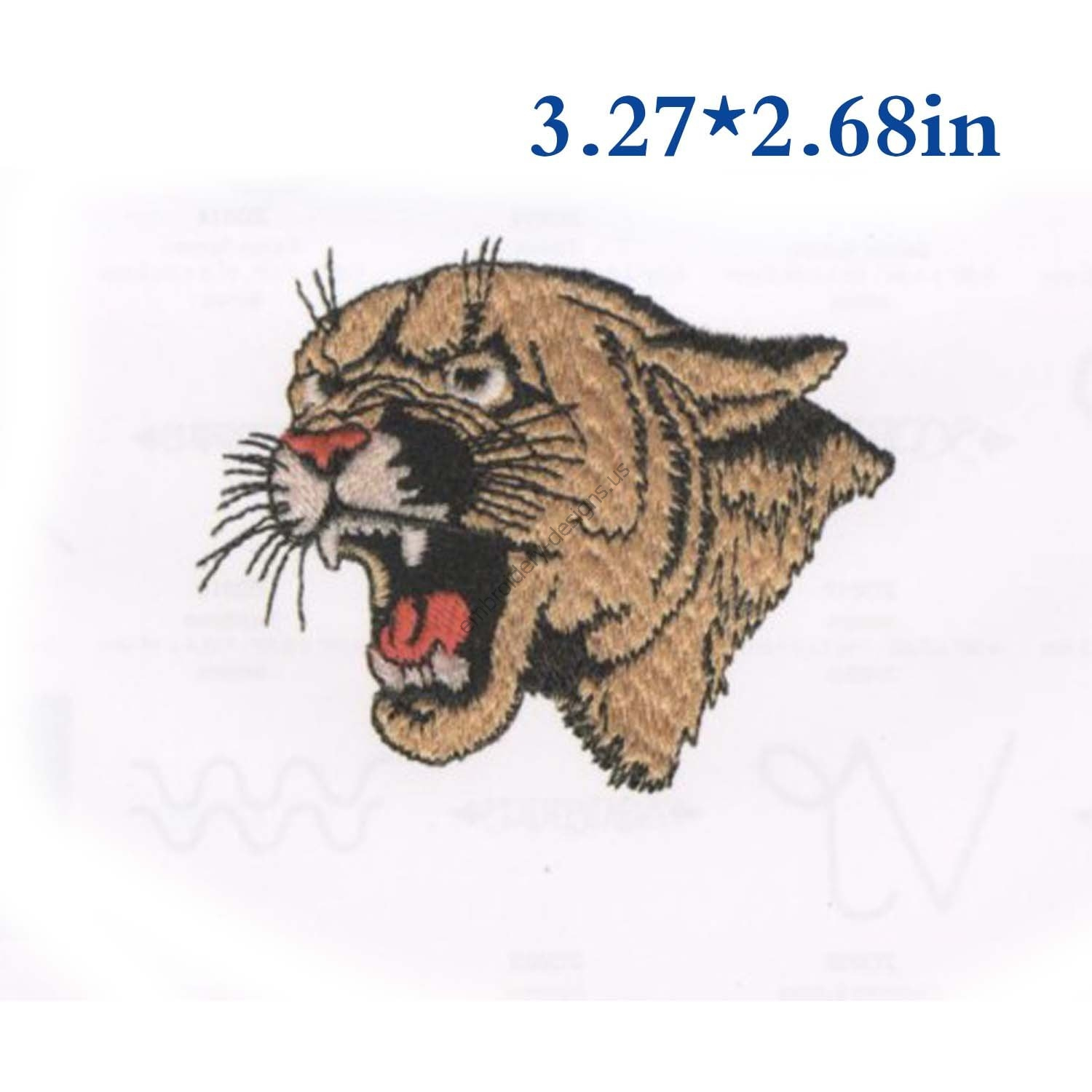 Embroidery Machine Patterns Download Tiger Head Outline Machine Embroidery Design Embroidery Patterns Embroidery Files Instant Download