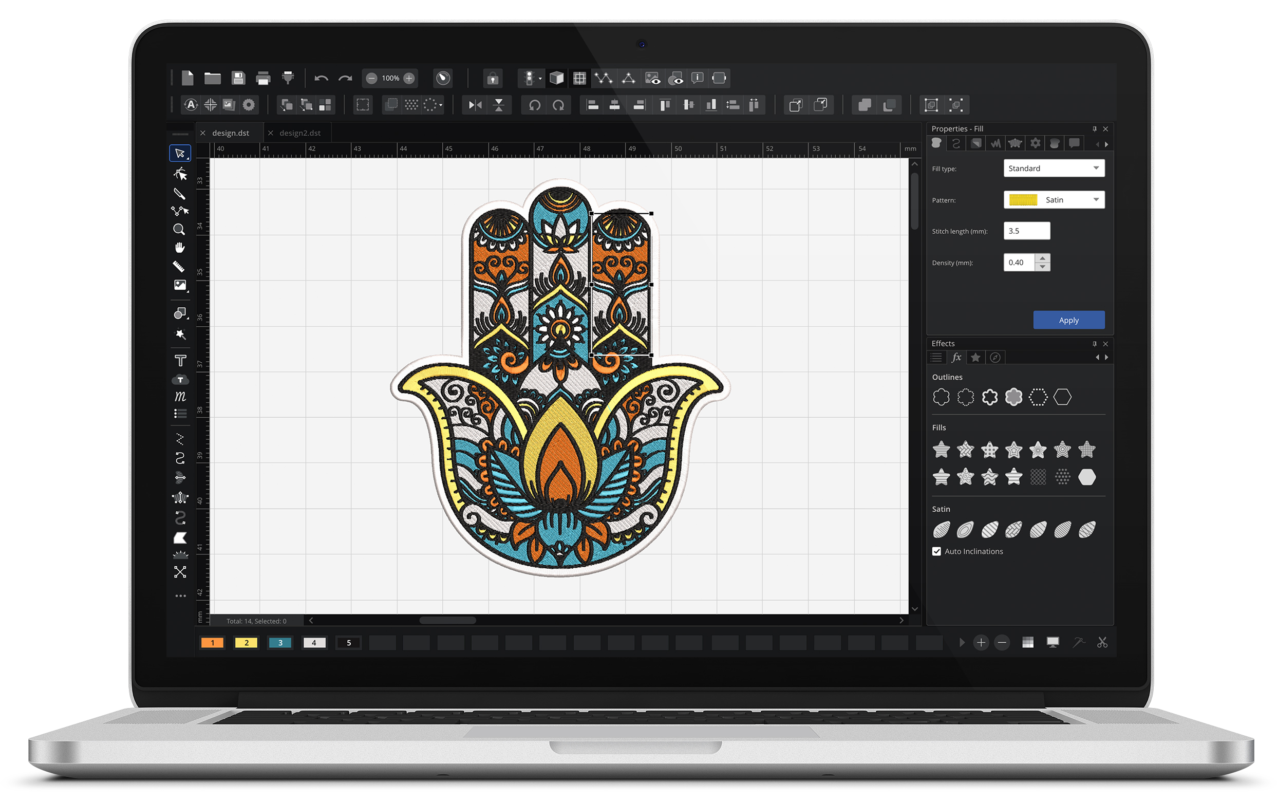 Embroidery Pattern Software Chroma