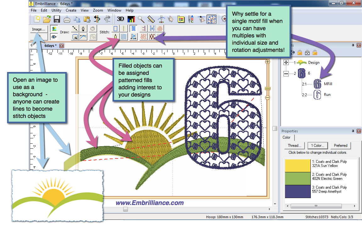 Embroidery Pattern Software Embrilliance Embroidery Software For Mac And Pc Stitchartist