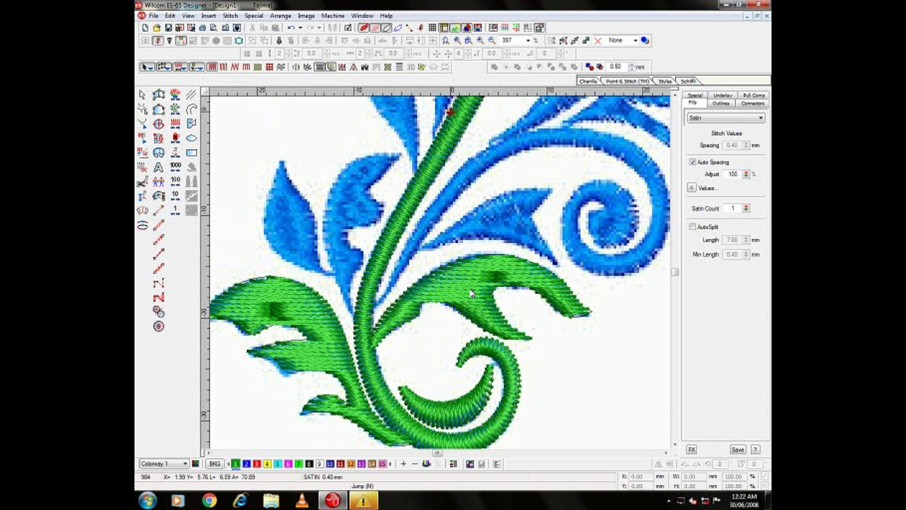 Embroidery Pattern Software Embroidery Design Wilcom Software