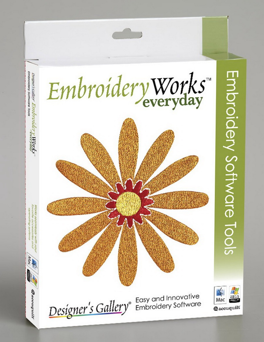 Embroidery Pattern Software Embroideryworks Everyday Software