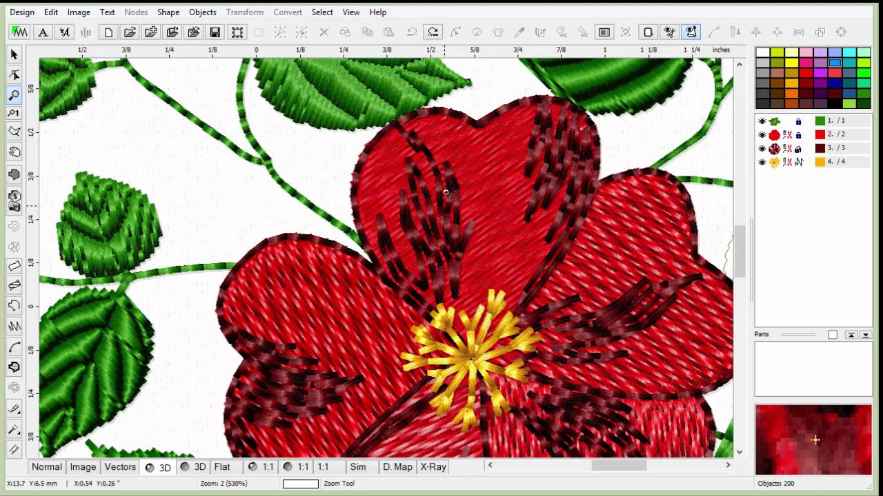 Embroidery Pattern Software Learn To Digitize Embroidery An Introduction To Embird Part 1 E1