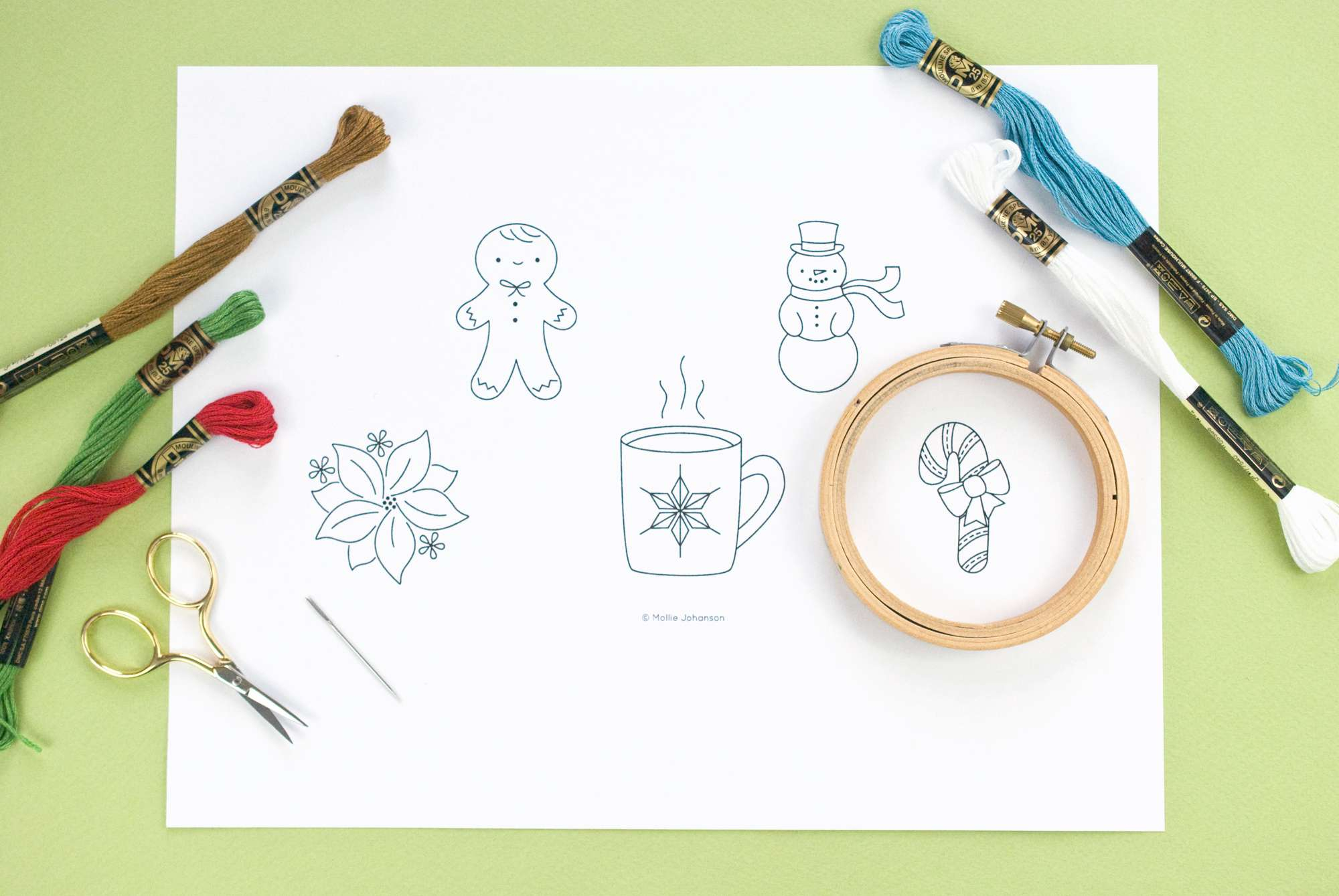 Embroidery Patterns Christmas 10 Free Christmas Hand Embroidery Patterns