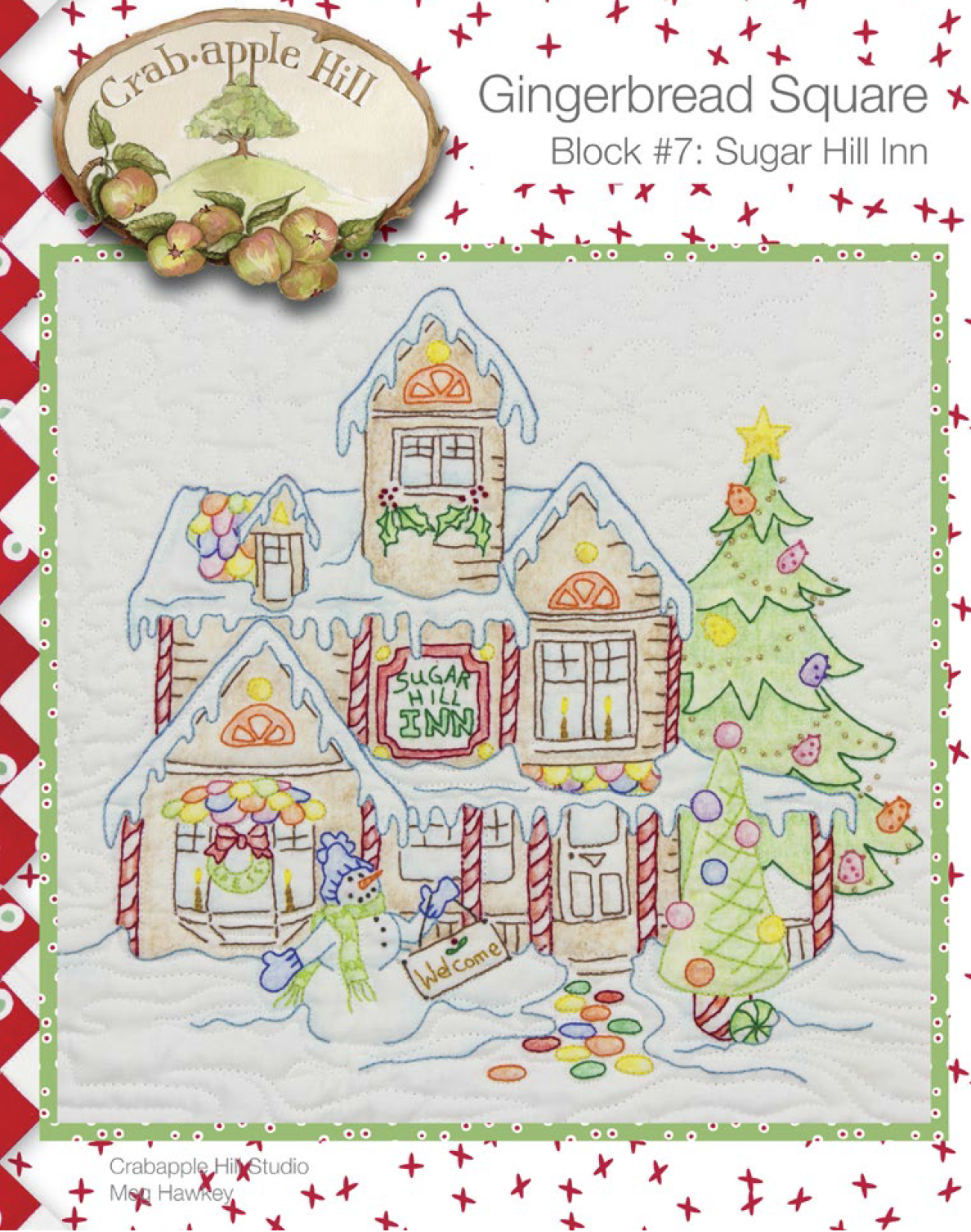 Embroidery Patterns Christmas Crabapple Hill Designs Checker News Blog