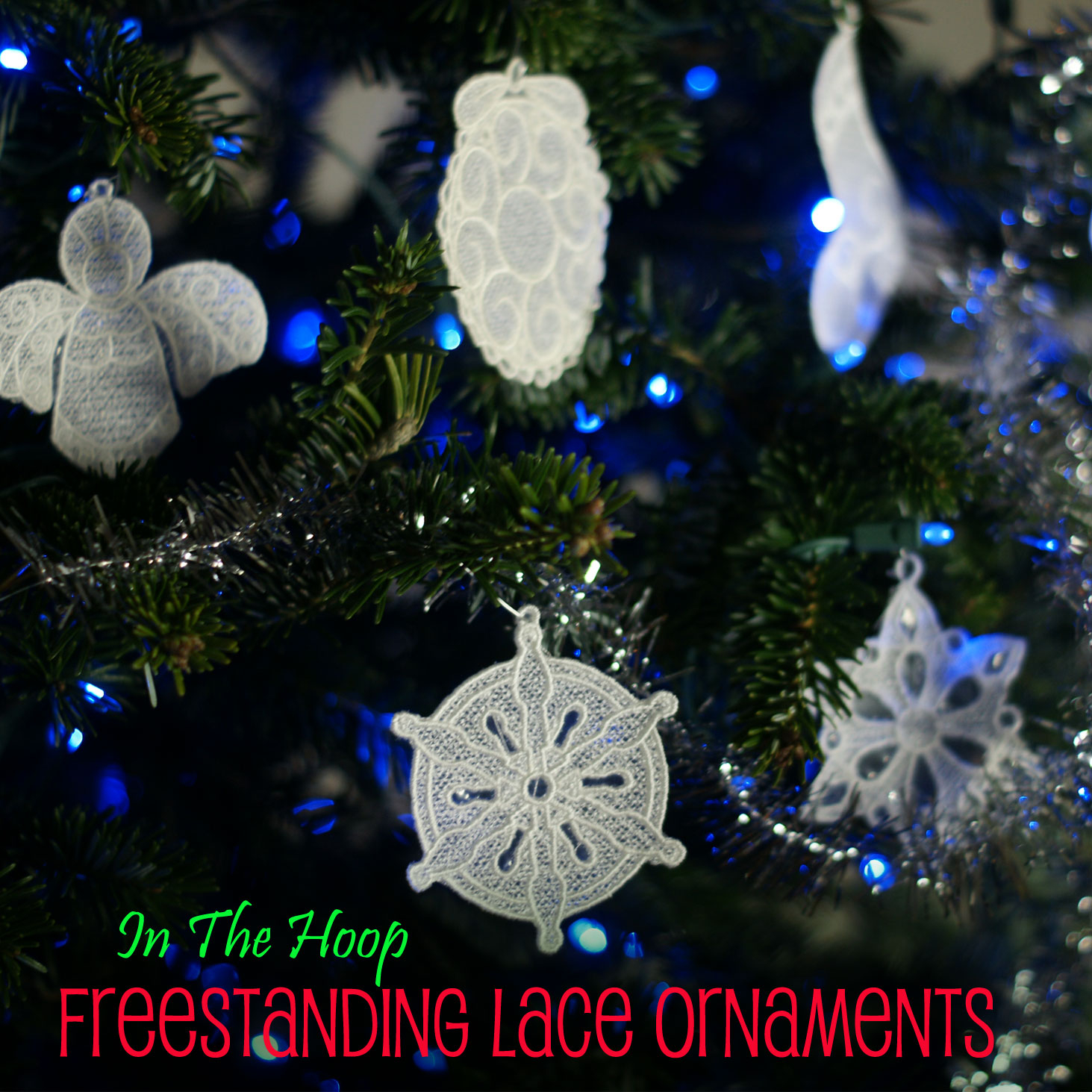 Free Christmas Embroidery Patterns In The Hoop Lace Christmas Ornament Mega Pack