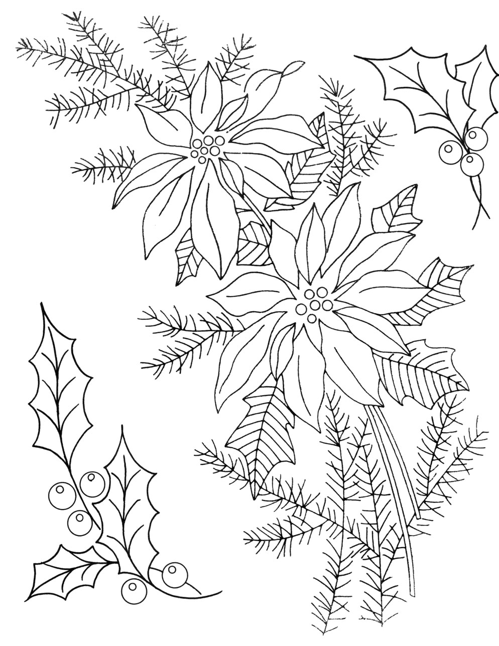 Free Christmas Embroidery Patterns More Vintage Christmas Embroidery Transfers Q Is For Quilter