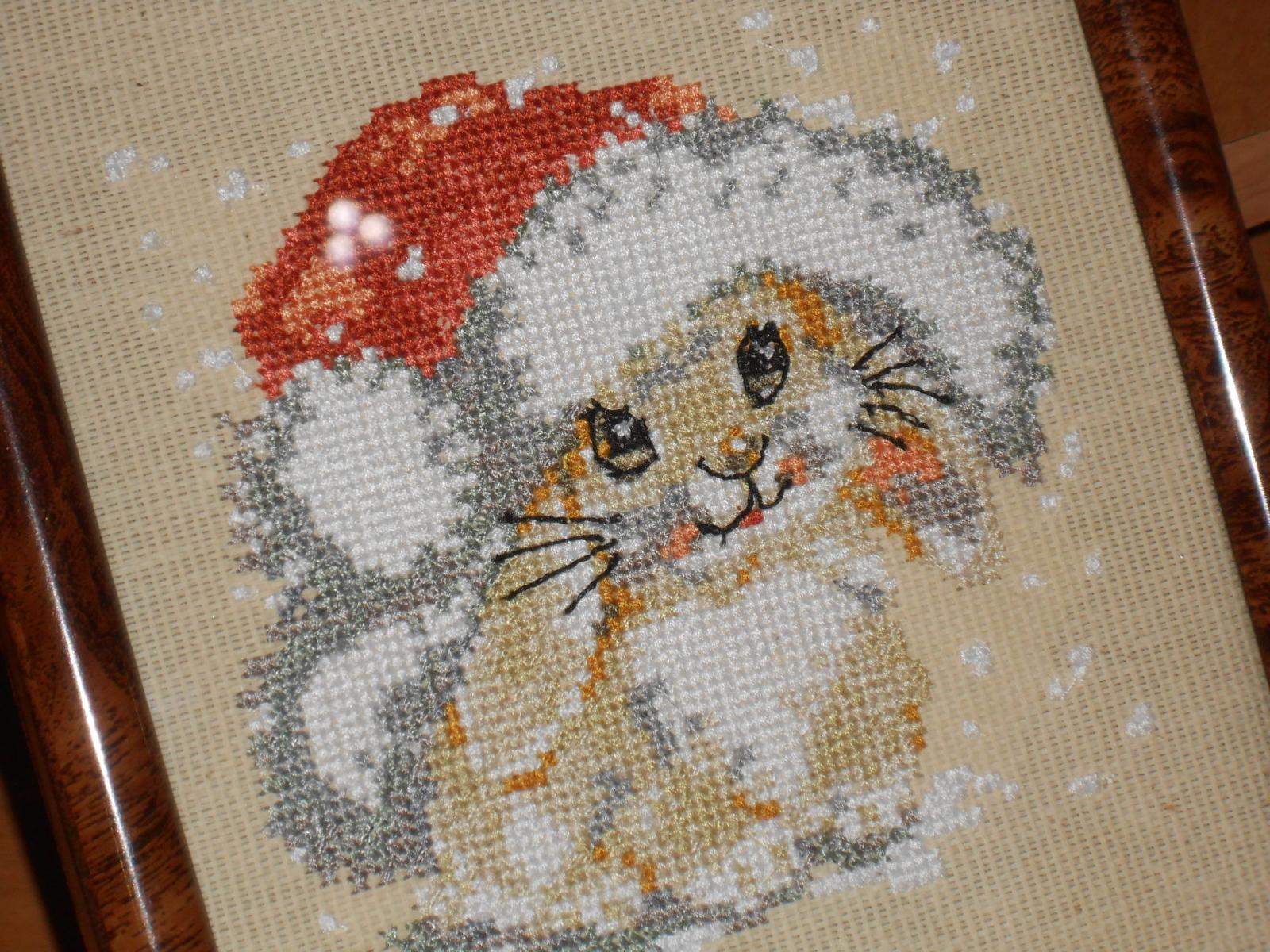 Free Christmas Embroidery Patterns Placement With Bunny Cross Stitch Free Embroidery Christmas