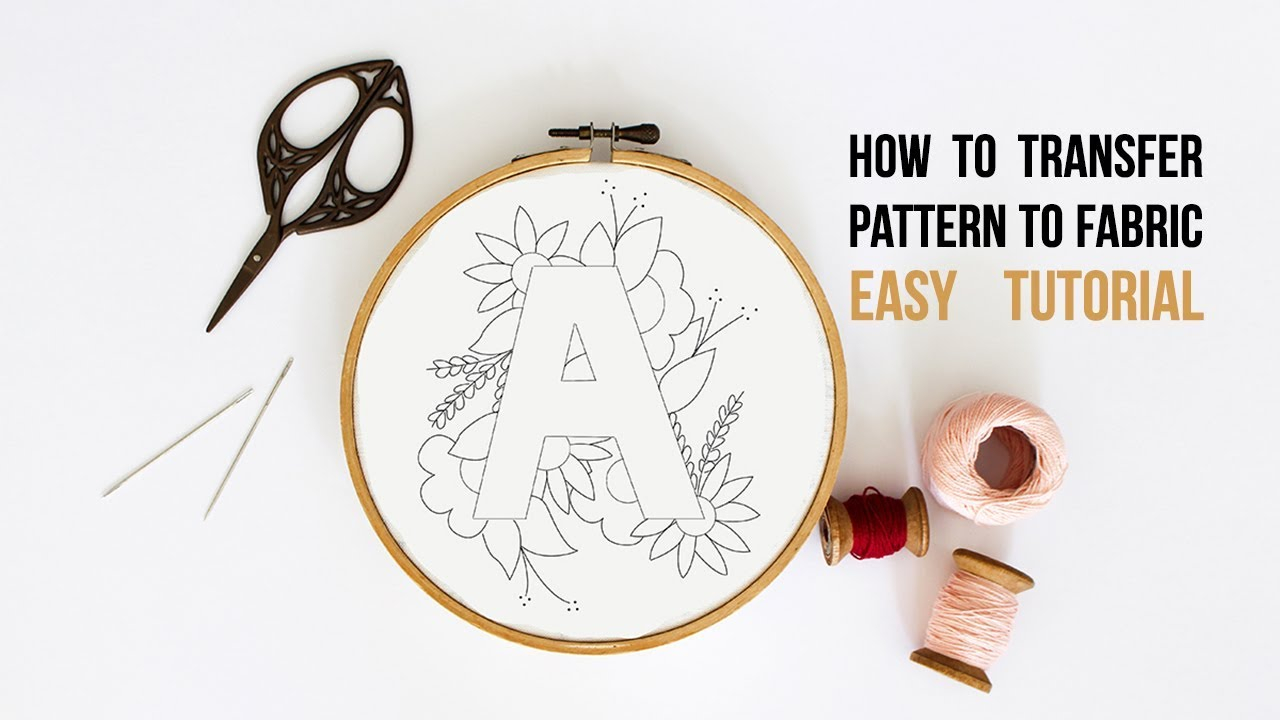 Free Christmas Embroidery Patterns Tata Sol How To Transfer Embroidery Patterns To Fabric Using Home