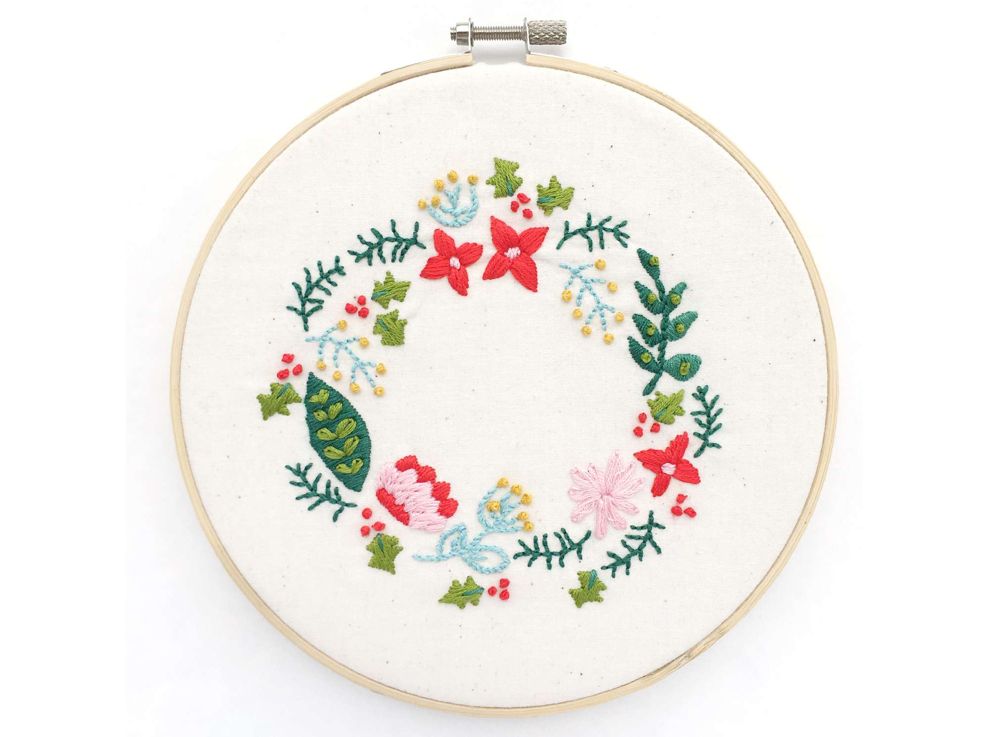 Free Flower Embroidery Patterns 10 Wreath Embroidery Patterns For Any Time Of Year