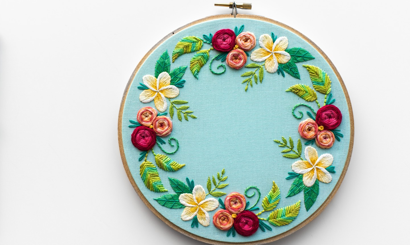 Free Flower Embroidery Patterns 5 Beginner Hand Embroidery Projects