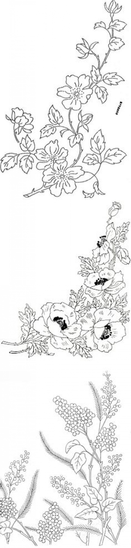 Free Flower Embroidery Patterns Embroidery Ideas