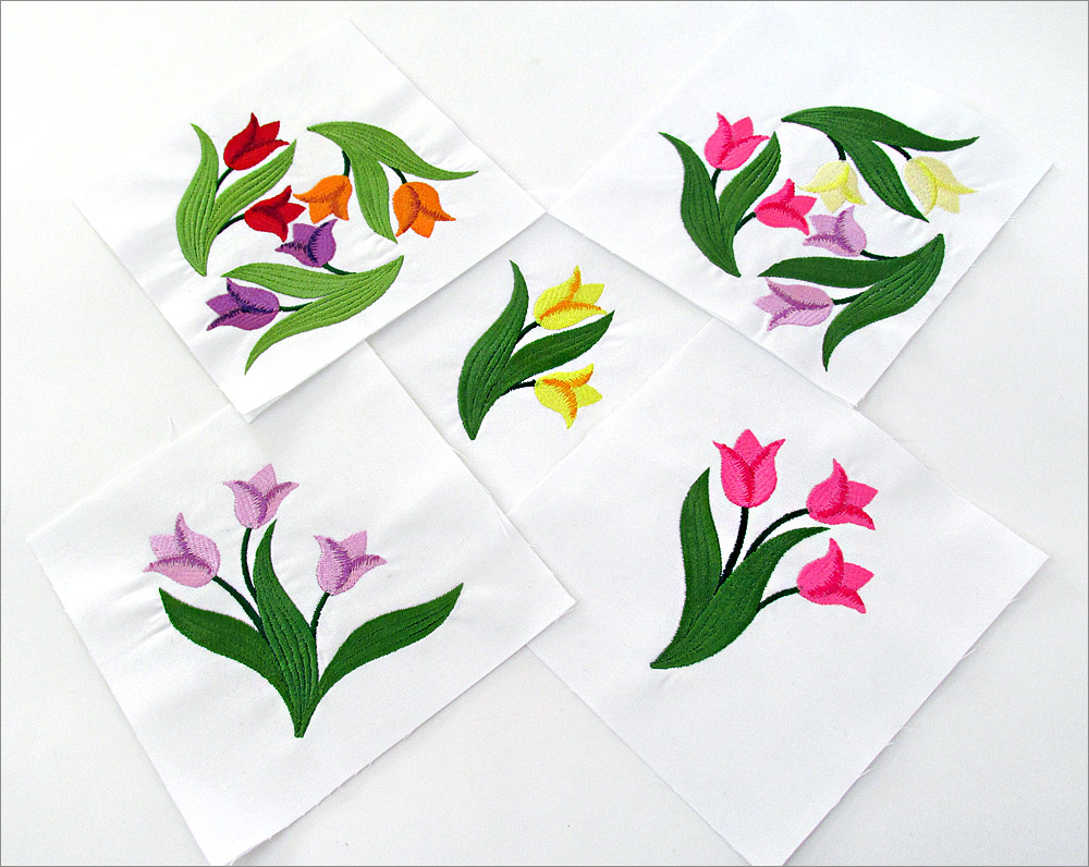 Free Flower Embroidery Patterns Five Free Embroidery Designs To Celebrate National Embroidery Month