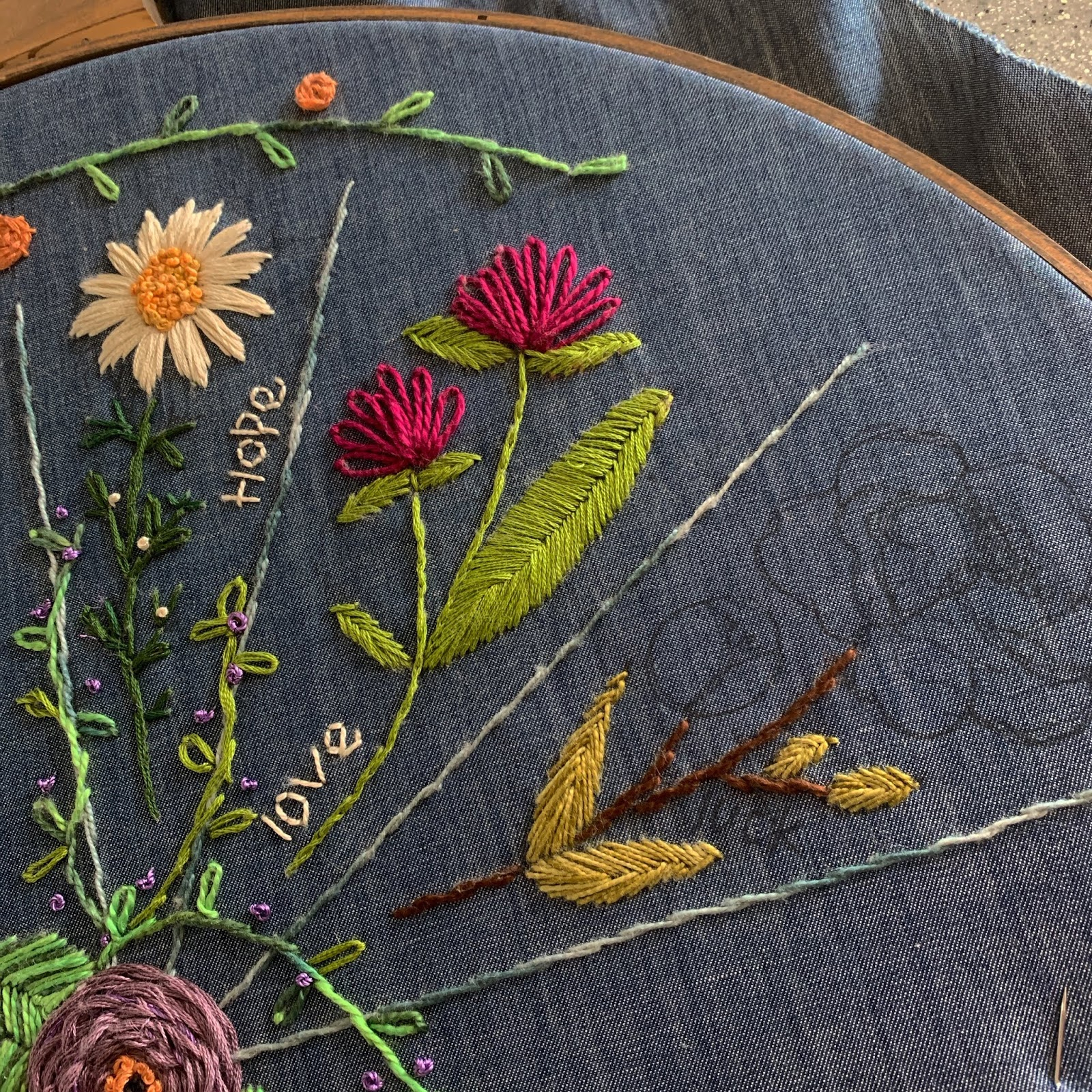 Free Flower Embroidery Patterns Flourishing Floral Embroidery Jan Feb Tweetle Dee Design Co