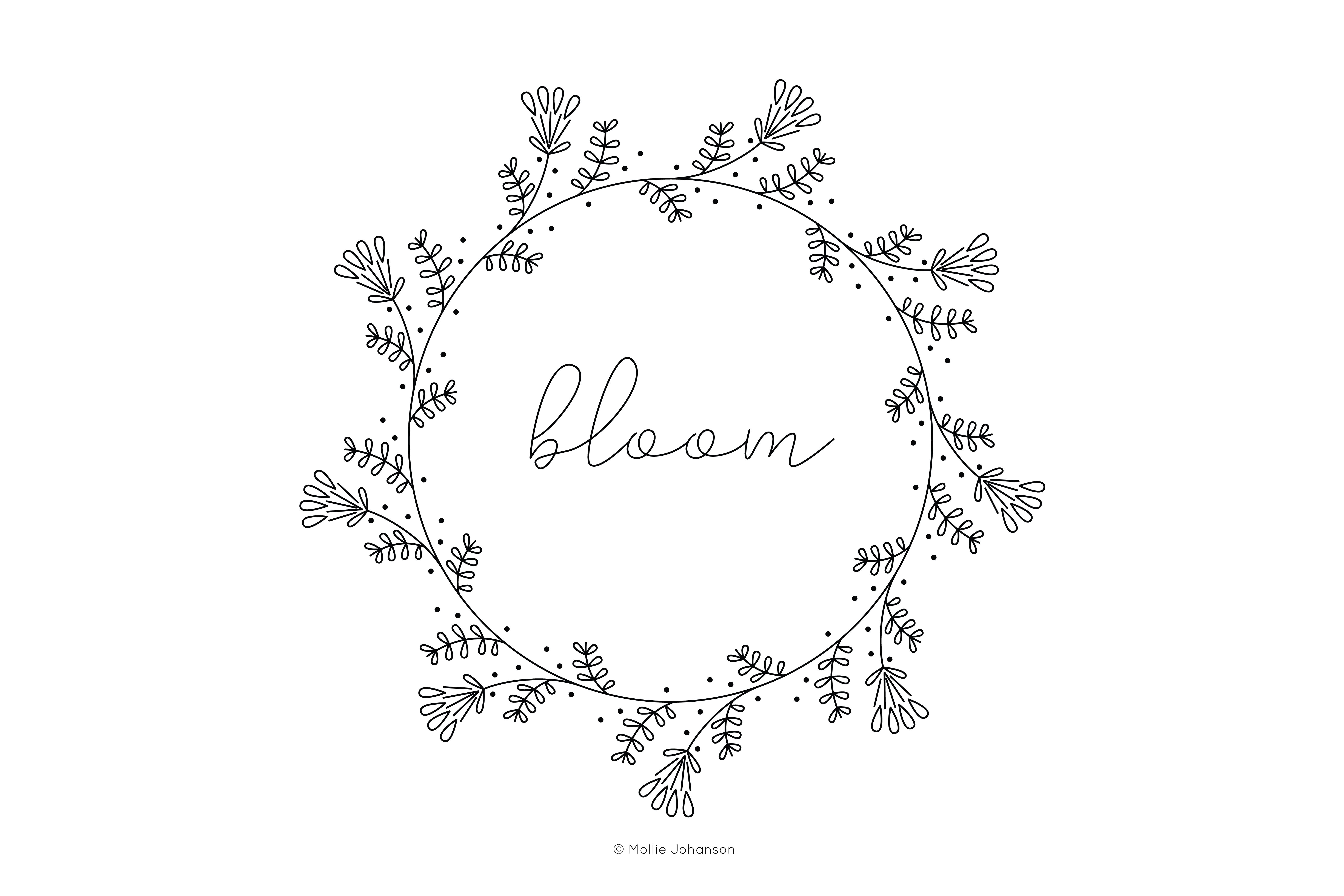 Free Flower Embroidery Patterns Free Vintage Inspired Bloom Embroidery Pattern