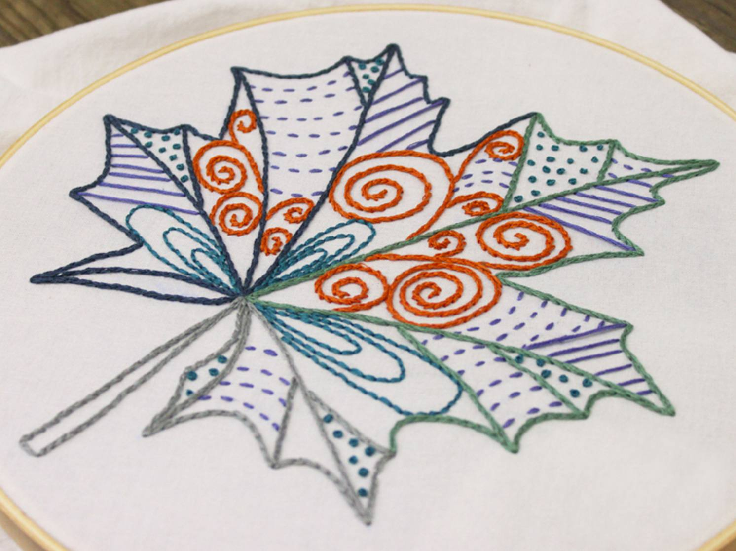 Free Hand Embroidery Pattern 10 Hand Embroidery Patterns For Autumn Stitching
