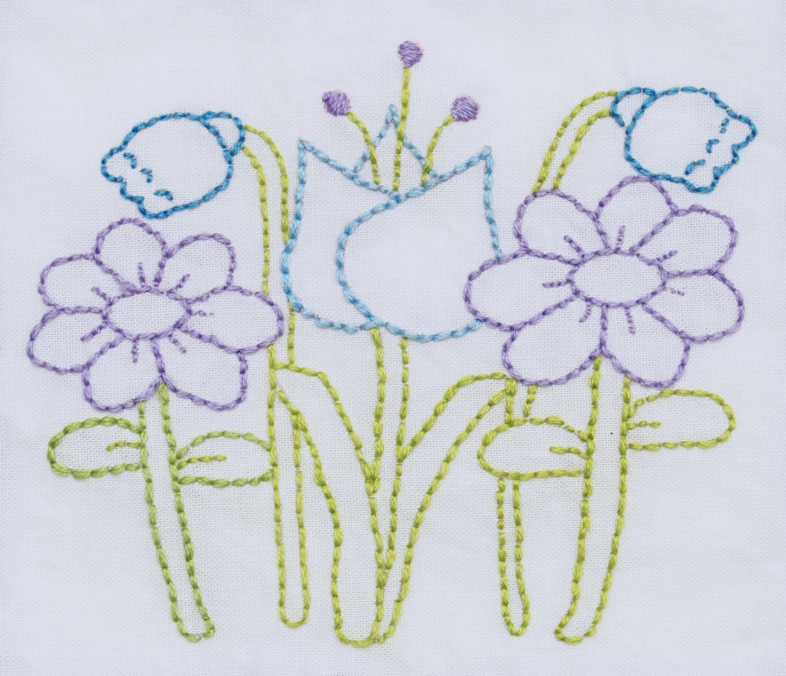 Free Hand Embroidery Pattern Free Simple Flower Embroidery Patterns Flowers Healthy