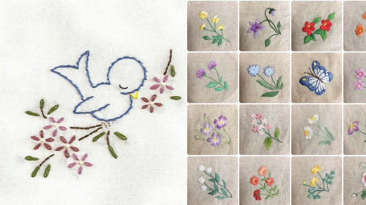 Free Hand Embroidery Pattern Hand Embroidery Designs For Ba And Kids Dress
