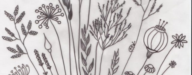 Free Hand Embroidery Patterns To Print Free Floral Meadow Embroidery Pattern