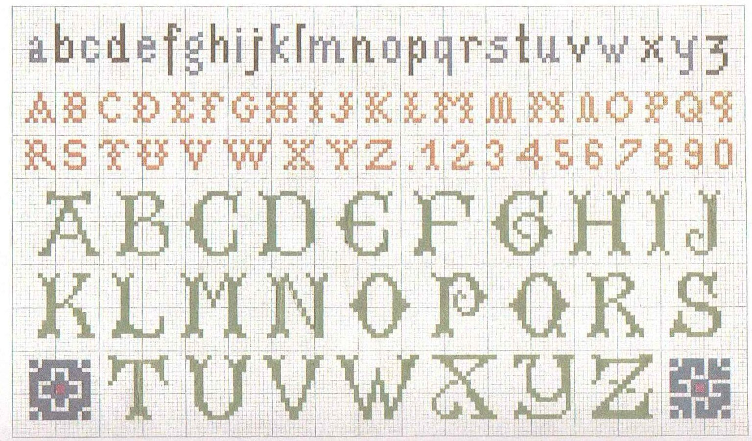 Hand Embroidery Alphabet Patterns Free Free Creative Patterns Motifs Adels Knit Craft