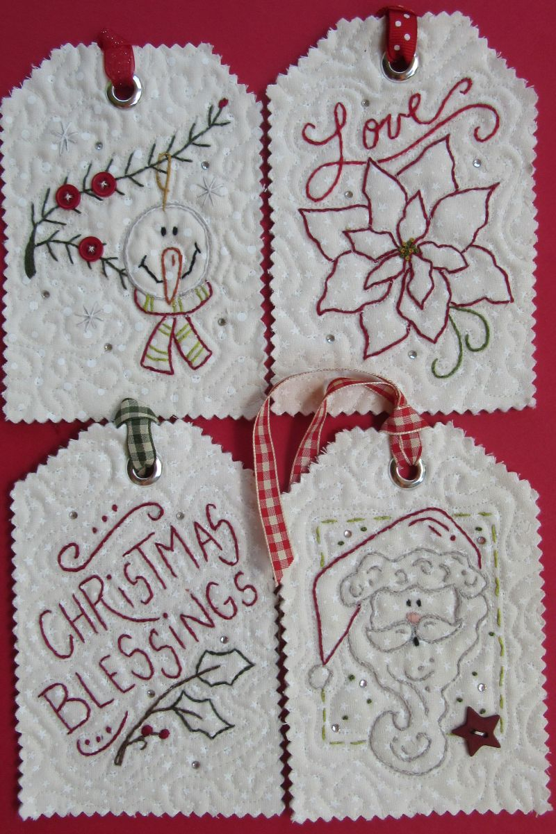 Hand Embroidery Christmas Patterns Mini Hand Embroidery Patterns To Use To Make Your Own Table Runners