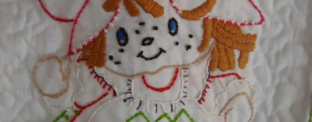 Hand Embroidery Patterns For Baby Quilts Simple Pleasures Vintage Strawberry Shortcake Ba Quilt