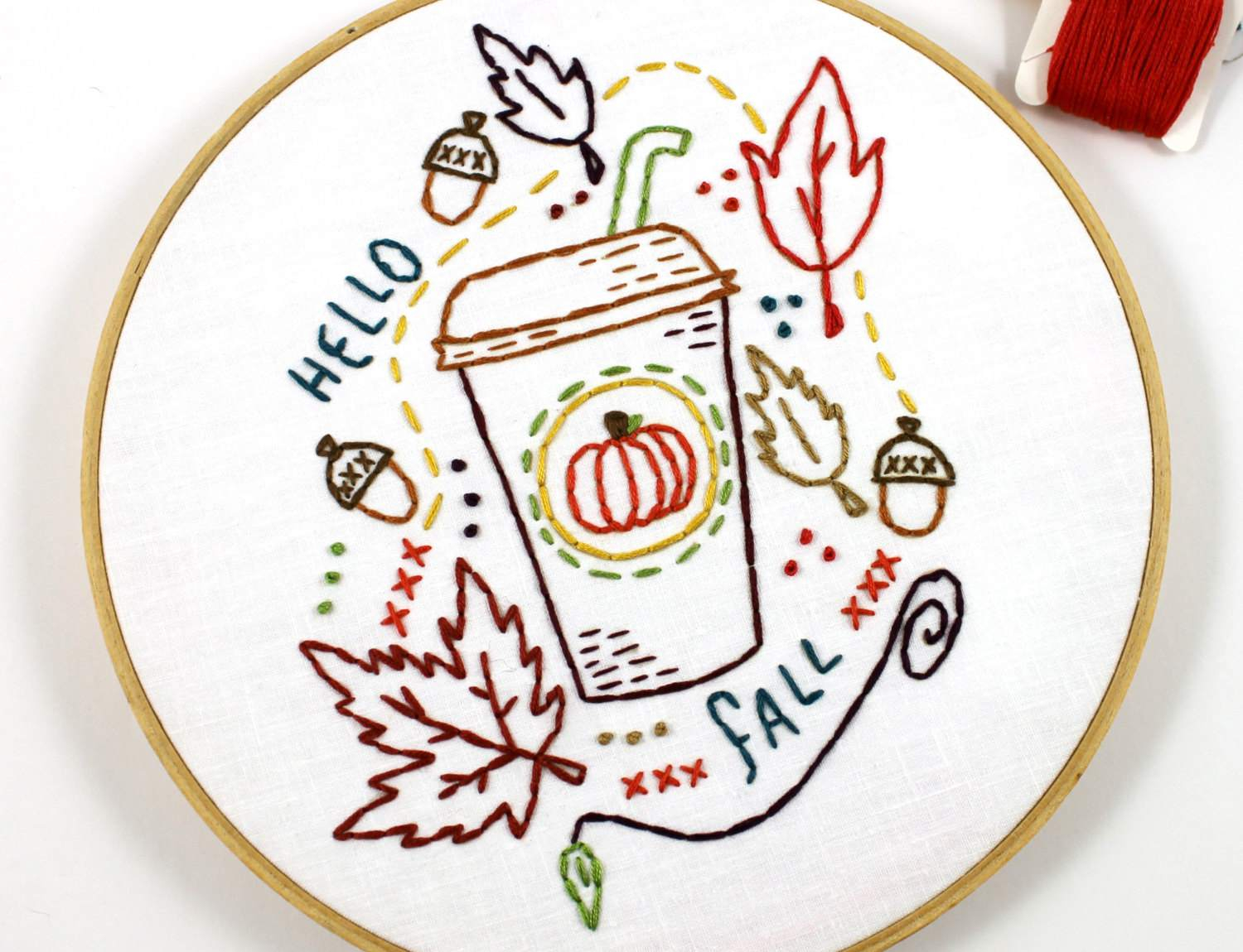 How To Design Embroidery Patterns By Hand 10 Hand Embroidery Patterns For Autumn Stitching
