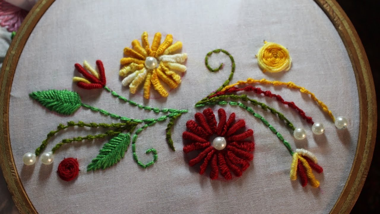 How To Design Embroidery Patterns By Hand Hand Embroidery Designs Hand Embroidery Stitches Stitch And Flower 97