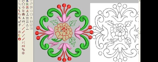 How To Design Embroidery Patterns For Machine How To Make Computer Embroidery Design Embroidery Machine Design Pat 125