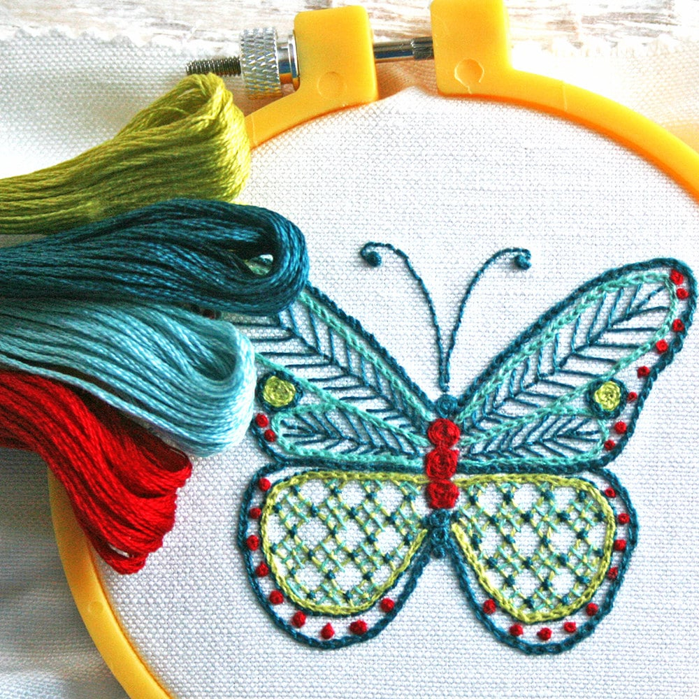 How To Make An Embroidery Pattern 15 Embroidery Patterns That You Can Start Sewing Today